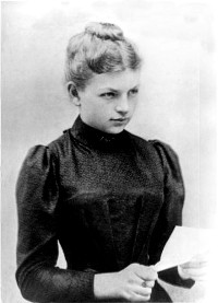 Clara Immerwahr during her time at the university in 1890